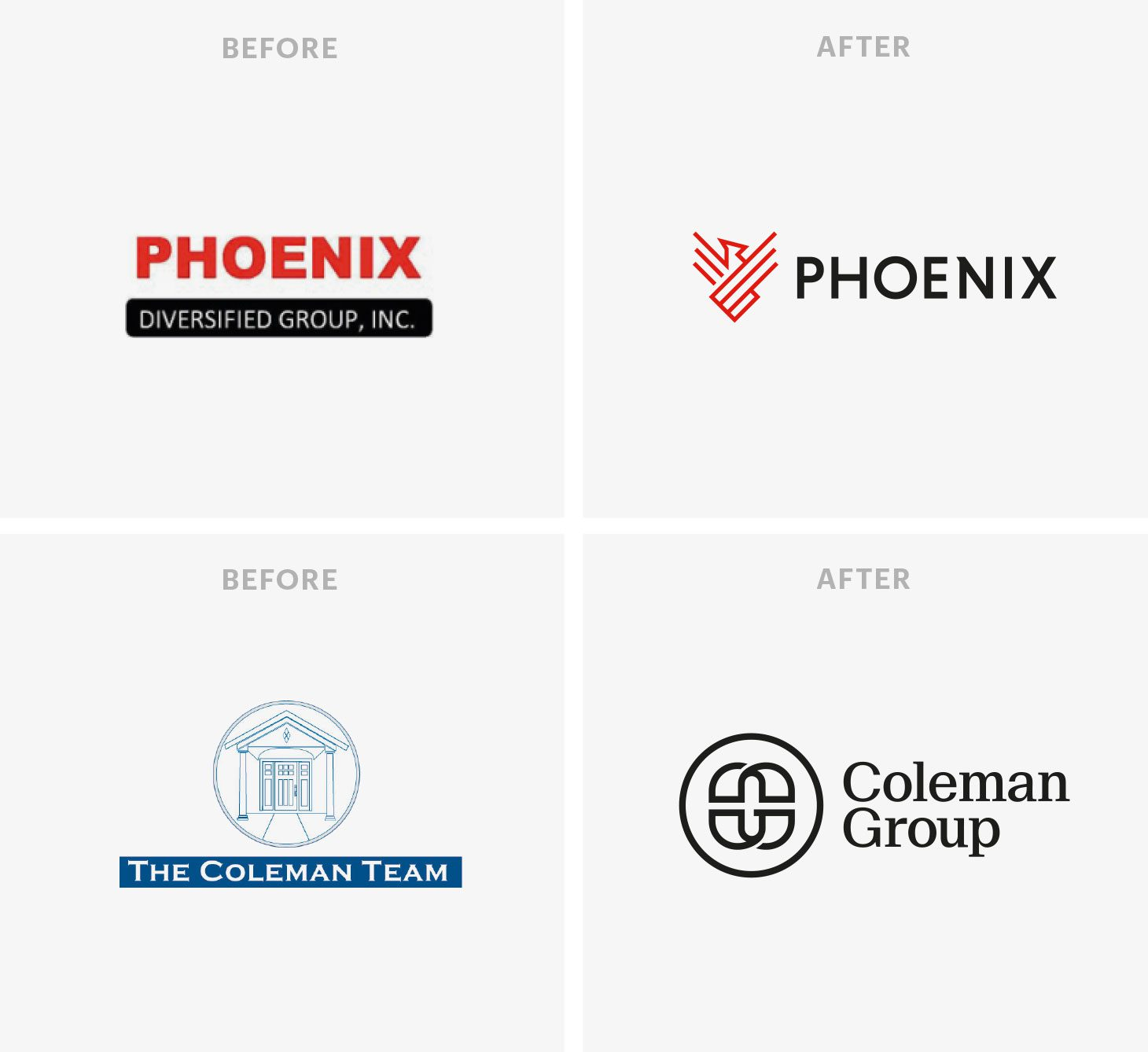 Logos Before and After 2